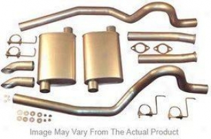 2002-2005 Dodge Ram 1500 Exhaust System Heartthrob Exhaust Dodge Exhaust System 2005560 02 03 04 05