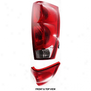 2002-2006 Chevrolet Avalanche 2500 Tail Light Replacement Chevrolet Back part Light C730121 02 03 04 05 06