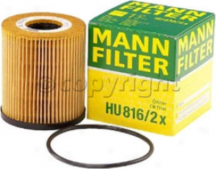 2002-2008 Mini Cooprr Oil Fioter Mann-filter Mini Oil Filter Hu816/2x 02 03 04 05 06 07 08