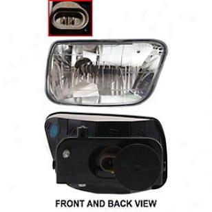 2002-2009 Chevrolet Trailblazer Fog Light Replacement Chevrolet Fog Ligght 3352004ras 02 03 04 05 06 07 08 09