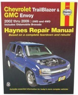 2002-2009 Chevrolet Trailblazer Repair Manual Haynes Chevrolet Repair Manual 24072 02 03 04 05 06 07 08 09