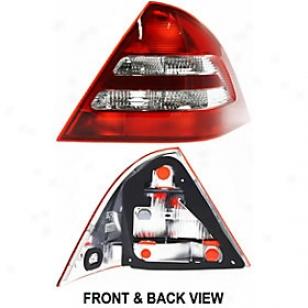 2003-2004 Mercedes Benz C230 Tali Light Replacement Mercedes Benz Tail Light M730163 03 04