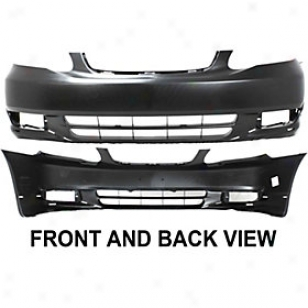 2003-2O04 Toyoga Corolla Bumper Cover Rsplacement Toyota Bumper Cover T010322 03 04
