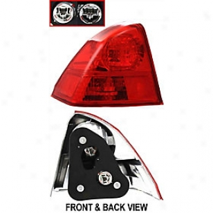 2003-2005 Honda Civic Tail Light Replacement Honda Tail Light H730152 03 04 05