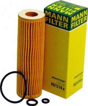 2003-2005 Mercedes Benz C230 Oil Filter Mann-filter Mercedes Benz Oil Filter Hu514x 03 04 05