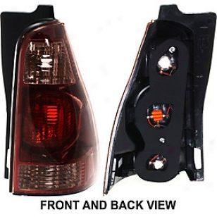 2003-2005 Toyota 4runner Tail Light Replacement Toyota Train Unencumbered T730101 03 04 05