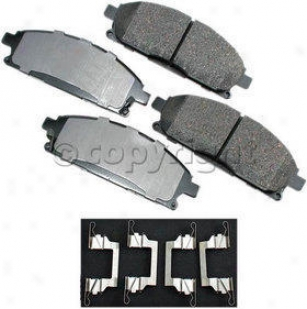2003-2006 Acura Mdx Thicket Pad Se tAkebono Acura Brake Pad Placed Act691 03 04 05 06