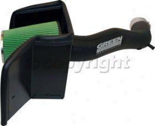 2003-2006 Dodge Ram 1500 Cold Air Intake Green Dodge Cold Air Intake 2561 03 04 05 06