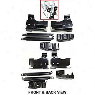 2003-2006 Gmc Sierra 1500 Bumper Bracket Replacement Gmc Bumper Brzcket G013701 03 04 05 06
