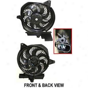 20003-2006 Hyuhdai Santa Fe A/c Condenser Fan Replacement Hyundai A/c Condenser Agitate H190931 03 04 05 06