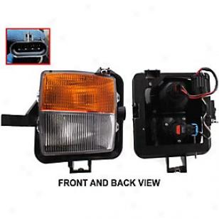 2003-2007 Cadillac Cts Fog Illuminate Replacement Cadillac Fog Light C107522 03 04 05 06 07