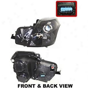 2003-2007 Cadillac Cts Headlight Replacement Cadillac Headlight C100156 03 04 05 06 07