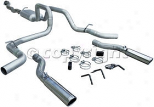2004-2005 Chevrolet Silveradl 1500 Expend System Flowmaster Chevrolet Exhaust System 17436 04 05