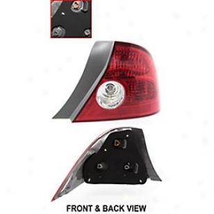 2004-2005 Honda Civic Tail Light Replacement Honda Tail Light H730171 04 05