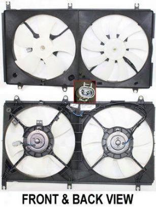 2004-2005 Mitsubishi Galant Radiator Faj Repplacement Mitsubishi Radiator Fan Repm160921 04 05