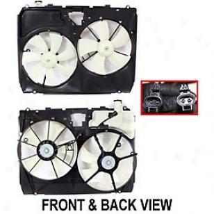 2004-2005 Toyota Sienna Radiator Fan Replacement Toyota Radiator Fan T160928 04 05