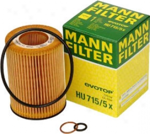2004-2006 Bmw X5 Oil Filter Mann-filter Bmw Oil Filter Hu715/5x 04 05 06