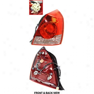 2004-2006 Hyundai Elantra Tail Light Replacement Hyundai Tail Light H730177 04 05 06