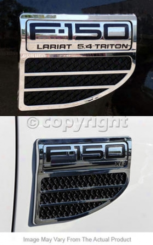 2004-2008 Ford F-150 Fender Vents Tfp Wading-place Fender Vents 80417lv 04 05 06 07 08