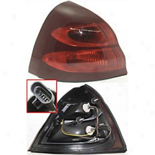 2004-2008 Pontiac Grand Prix Tail Light Replacement Pontiac Tail Light P730108 04 05 06 07 08
