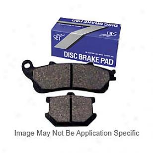 2004-2010 Toyota Sienna Brake Pad Set Centric Toyota Thicket Pad Set 100.09950 04 05 06 07 08 09 10