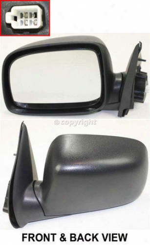 2004-2011 Chevrolet Colorado Mirror Kool Vue Chevrolet Mirror Gm66el 04 05 06 07 08 09 10 11