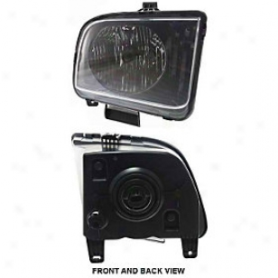 2005-2006 Ford Mustang Headlight Replacement Ford Headlight F100121 05 06