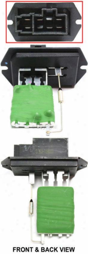 2005-2007 Chrysler Town & Country Blower Motor Resistor Replacement Chrysler Blower Motor Ressistor Repd191801 05 06 07