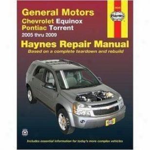 2005-2009 Chevrolet Equinox Repair Manual Haynes Chevrolet Repair Manual 38040 05 06 07 08 09