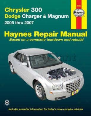 2005-2009 Chrysler 300 Repair Of the hand Haynes Chrysler Repair Manual 25027 05 06 07 08 09