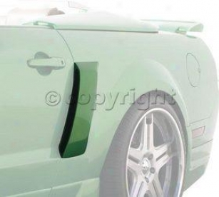 2005-2009 Ford Mustang Body Side Duct Street Scene Ford Material substance Side Duct 950-70737 05 06 07 08 09