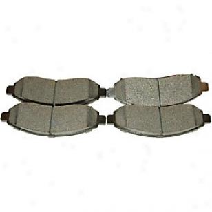 2005-2010 Nissan Pathfinder Brake Pad Sett Beck Arnley Nissan Brake Pad Set 086-1726c 05 06 07 08 09 10