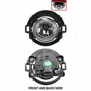 2005-2011 Nissan Xterra Fog Light Replacement Nissan Fog Light N107902 05 06 07 08 09 10 11