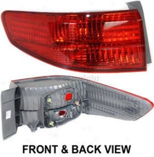 2005 Hoda Accord Tail Light Replacement Honda Tail Light Reph730114 05
