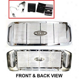 2006-2007 Forx F-450 Super Duty Grille Replacement Ford Grille F070161 06 07