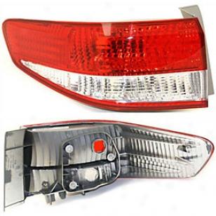 2006-2007 Honda Accord Tail Light Replacement Honda Tail Light H730104 06 07