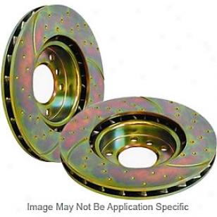 2006-2010 Stream Explorer Brake Disc Ebc Wading-place Brrake Disc Gd7382 06 07 08 09 10