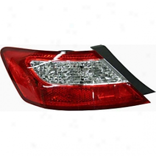 2006-2011 Honda Civic Tail Light Replacement Honda Tail Light H730324 06 07 08 09 10 11