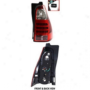 2007-2008 Toyota 4runber Tail Easy  Replacement Toyota Tail Light T730169 07 08