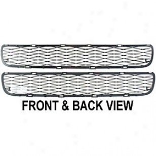 2007-2008 Toyota Yaris Bumper Grille Replacement Toyota Bumper Grille Rept015304 07 08
