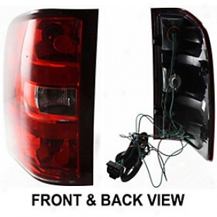 2007-2009 Chevrolet Silverado 1500 Tail Light Replacement Chevrolet Tail Light C730180 07 08 09