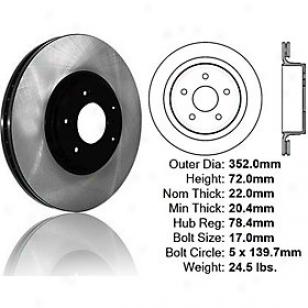 2007-2009 Chryslrr Aspen Brake Disc Centric Chrysler Brake Disc 120.67054 07 08 09