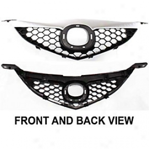 2007-2009 Mazda 3 Grille Replacement Mazda Grille Arbm070101 07 08 09
