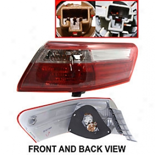2007-2009 Toyota Camry Tail Light Replacement Toyota Tzil Light T730151q 07 08 09