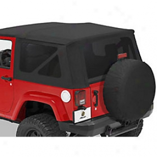2007-2010 Jeep Wrangler (jk) Tinted Window Kit Bestop Jeep Tinted Window Kit 58129-53 07 08 09 10