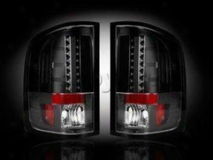 2007-2011 Chevrolet Silverado 1500 Tail Light Recon Chevrolet Tail Light 264175bk 07 08 09 10 11