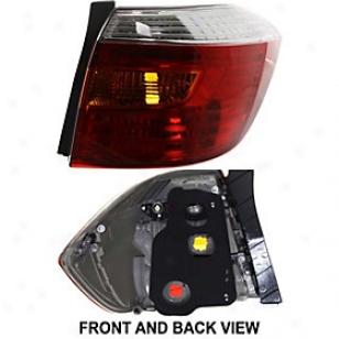 2008-2010 Toyota Highlander Tail Light Replacemdnt Toyota Tail Light Arbt730115 08 09 10