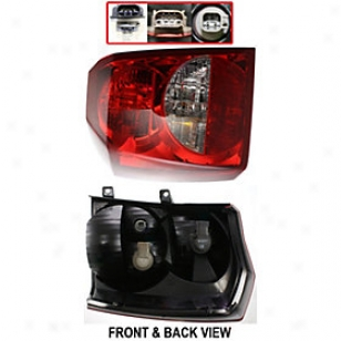 2008-2011 Dodge Caliber Tail Light Replacement Start aside Tail Light D730138q 08 09 10 11