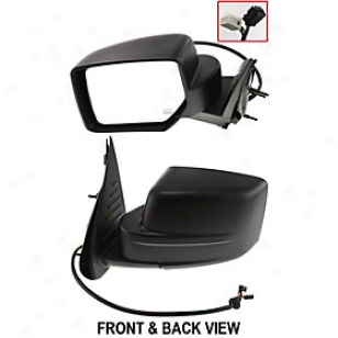 2008-2011 Jeep Privilege Mirror Kool Vue Jeep Mirror Jp38el 08 09 10 11