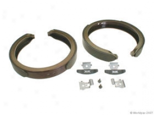 2008 Cadillac Escalade Parking Thicket Shoe Pbr Cadillac Parking Brake Shoe W0133-1618207 08
